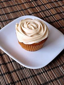 Brown Butter Pumpkin Cupcakes with Cinnamon Cream Cheese Frosting from Baked Perfection 2.jpg